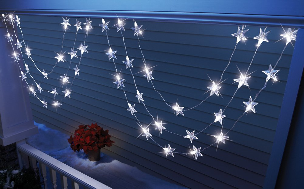 Unique's Shop Collections Etc - Led Star Garland Holiday String Lights at Sears.com
