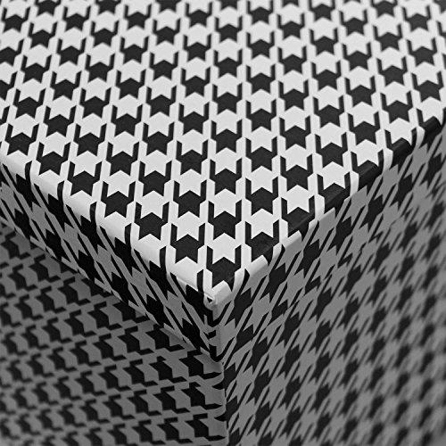 6tlg boxenset mit deckel stapelbox dekobox deko karton. Black Bedroom Furniture Sets. Home Design Ideas
