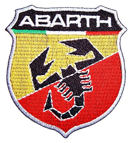 Fiat Abarth Racing Logo Embroidered Badge