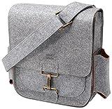 Hijos de Comercio JOCHFT-604 00 bolsa de hombro de los hombres con estaci�n de bobinado Viaje Pack, gris