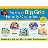 2016 Amy Knapp Big Grid Wall Calendar: The essential organization and communication tool for the entire family