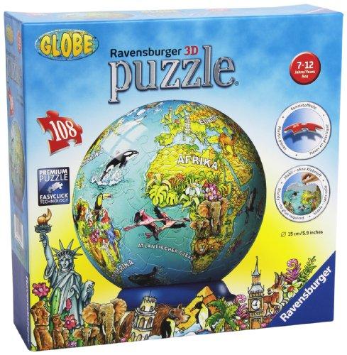 Ravensburger-12202-Illustrierte-Kindererde-Puzzleball-108-Teile