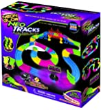 Mindscope Neon Glow Neo Tracks Twister Tracks 258 Piece Flexible Assembly Track Set