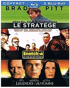 Coffret Brad Pitt - Le stratège + Snatch + Légendes d'automne [Blu-ray]