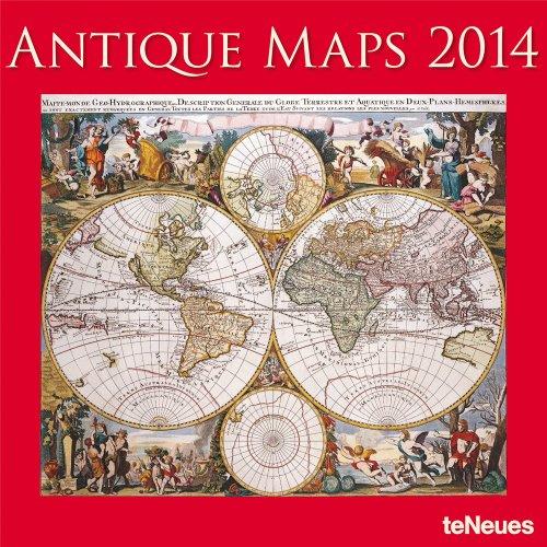 2014 Antique Maps Wall Calendar