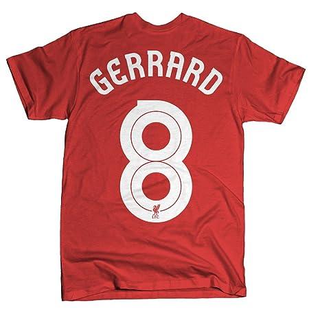 Official Liverpool FC Steven Gerrard Hero T-Shirt