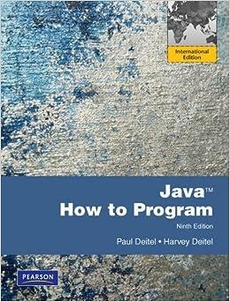 deitel java how to program solution manual pdf