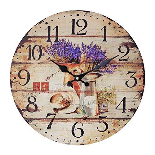 zyurong-lavender-pattern-silent-wood-wall-clock-frameless-hanging-clock