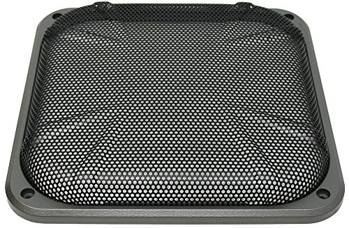 "Kicker Car Audio Universal Square Sub 10"" Mesh Subwoofer Grill"