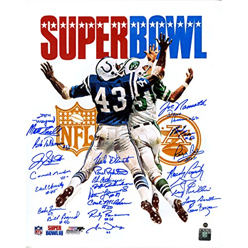 1969 New York Jets Team Autographed Super Bowl Iii Program 16 Inch X 20 Inch Photo 24 Signatures (1969 Super Bowl Program compare prices)
