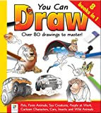 You Can Draw: Over 80 Drawings to Master