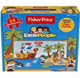 CHILDRENS TODDLER GIANT FLOOR JIGSAW PUZZLES CARRY CASE TOY (FISHER PRICE TREASURE ISLAND)