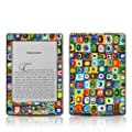 Decalgirl Line Dance- Skin para Kindle diseo cuadros coloridos