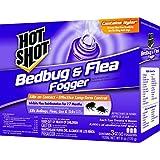 Hot Shot 95911 Bedbug and Flea Fogger, 3-Count