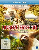 Unsere Erde 3D - Faszination an Land [3D Blu-ray] [Limited Edition]