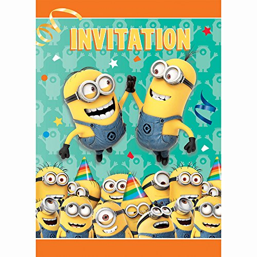 Cheapest Price! Despicable Me Invitations, 8ct