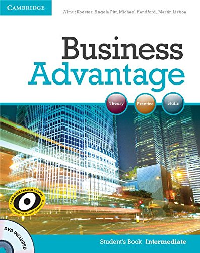 Business Advantage Intermediate Student's Book with DVD (Business Advantage compare prices)