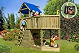 Gartenpirat Piratenschiff Spielhaus aus Holz thumbnail