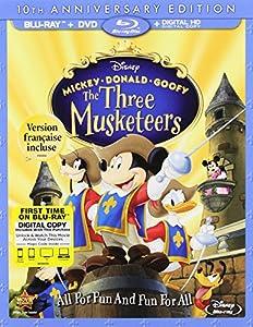 Mickey Donald Goofy: Three Musketeers 10th Anniv [Blu-ray]
