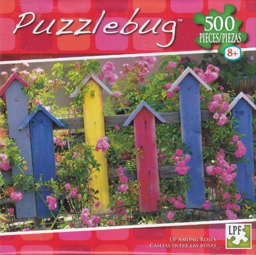Puzzlebug 500 - Up Among Roses - 1