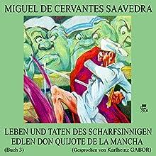 Leben und Taten des scharfsinnigen edlen Don Quijote de la Mancha (Buch 3) (       ungekürzt) von Miguel de Cervantes Saavedra Gesprochen von: Karlheinz Gabor