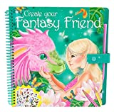 Toy - Fantasy Model 7847 - Create your Fantasy Friend - Malbuch mit Rubbelbildern