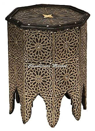 Moroccan Silver Plated Coffee Table