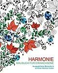 Malbuch f�r Erwachsene: Harmonie