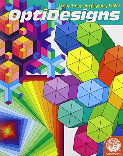 Mind Ware OptiDesigns Coloring Book - 1