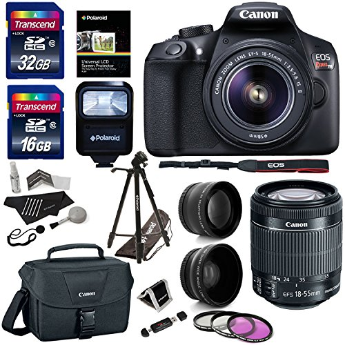 Why Should You Buy Canon EOS Rebel T6 Digital SLR Camera Kit, EF-S 18-55mm f/3.5-5.6 IS II Lens, 50&...