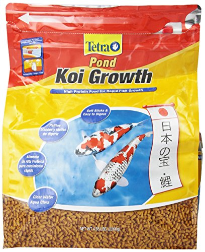TetraPond Koi Growth Food, 4.85 lb. (Koi Food Growth compare prices)