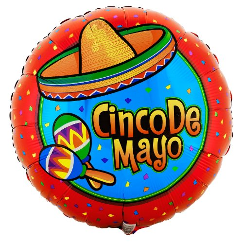 Cinco De Mayo Foil Balloon