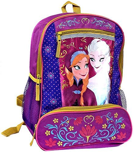 Disney Frozen Elsa And Anna Backpack - Folklore front-11867