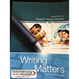 Writing Matters Special Edition for Brigham Young University