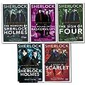 Sherlock Holmes 5 Books Set Collection Sir Arthur Conan Doyle BBC Book