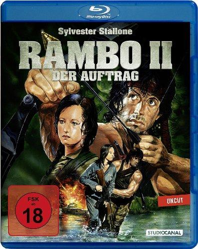 Rambo 2 - Der Auftrag (Uncut) [Blu-ray]
