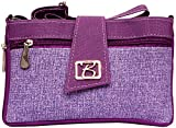 Zakina Women's Handbag (Purple) (ZE119)