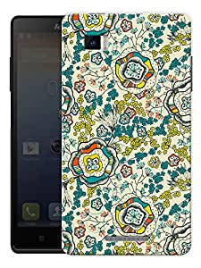 """Flower Illusion Printed Designer Mobile Back Cover For """"Lenovo Vibe P1"""" By Humor Gang (3D, Matte Finish, Premium Quality, Protective Snap On Slim Hard Phone Case, Multi Color)"""
