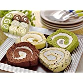 【届け日指定可能】☆ロールケーキの切れ端 1Kg 抹茶/バニラ/ごま/チョコ