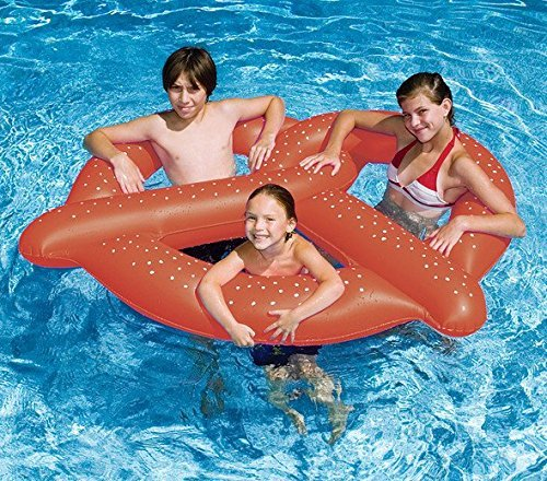 NEW Swimming Pool 3-Swim 60D Giant Pretzel Inflatable Float Tube HD Vinyl by Swimline online kaufen