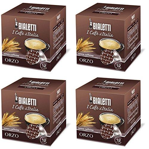 Bialetti Orzo Decaffeinated Espresso Capsules, 48 Count (Capsule Bialetti compare prices)