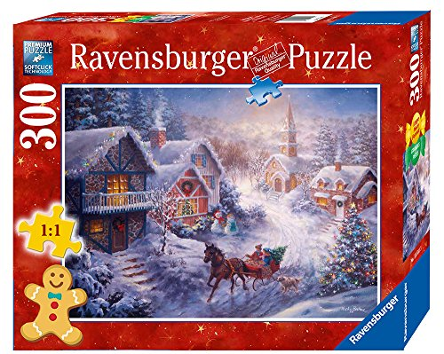 Ravensburger Dashing Through the Snow Format Puzzle (300 Piece), Large