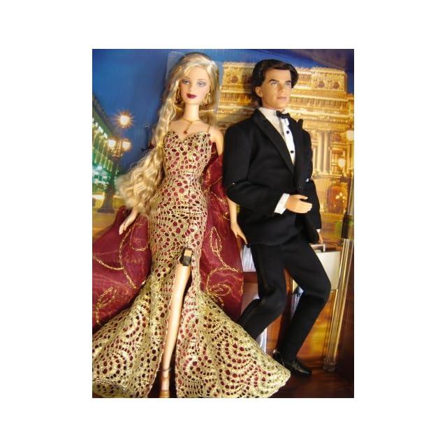 Barbie Loves Pop Culture James Bond 007 Ken and Barbie Gift Set