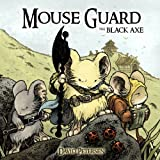 Mouse Guard: Black Axe (0857681435) by Petersen, David