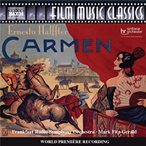 Halffter Carmen Music For The 1926 Silent Film from NAXOS