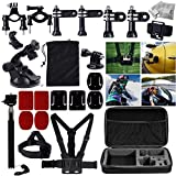 MCOCEAN 33 In 1 GoPro Accessories Set For GoPro Hero 4 Hero 3+ Hero 3 Hero 2 And GoPro Hero Camera: Telescoping...