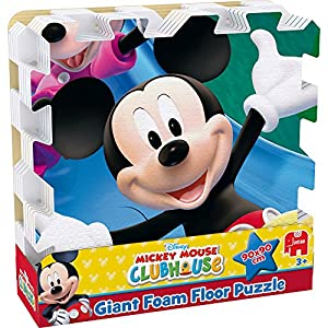 Amazon Com Mickey Mouse Giant Foam Floor Puzzle 9