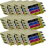 48 CiberDirect Compatible Ink Cartridges for use with Epson Stylus Photo RX520 Printers.