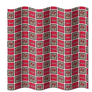 Tampa Bay Buccaneers Fabric Shower Curtain (72x72) by Northwest