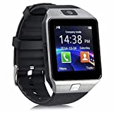 Alike C05 Bluetooth Smart Watch for Iphone & Android Smart Watch (Silver) (Color: silver)